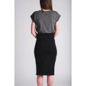 Sukně - kratší černá