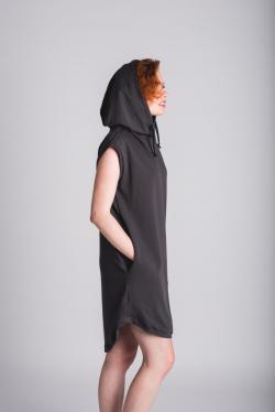 NAVRHNI SI - Šaty s kapucí