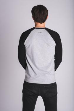 Raglanové triko pánské - šedé