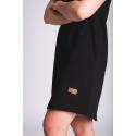 Šaty / prodloužené tričko - tmavě šedé