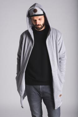 Cardigan šedý